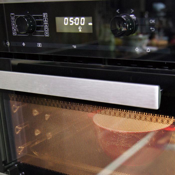 6.重新包上保鮮膜,再加熱5分鐘