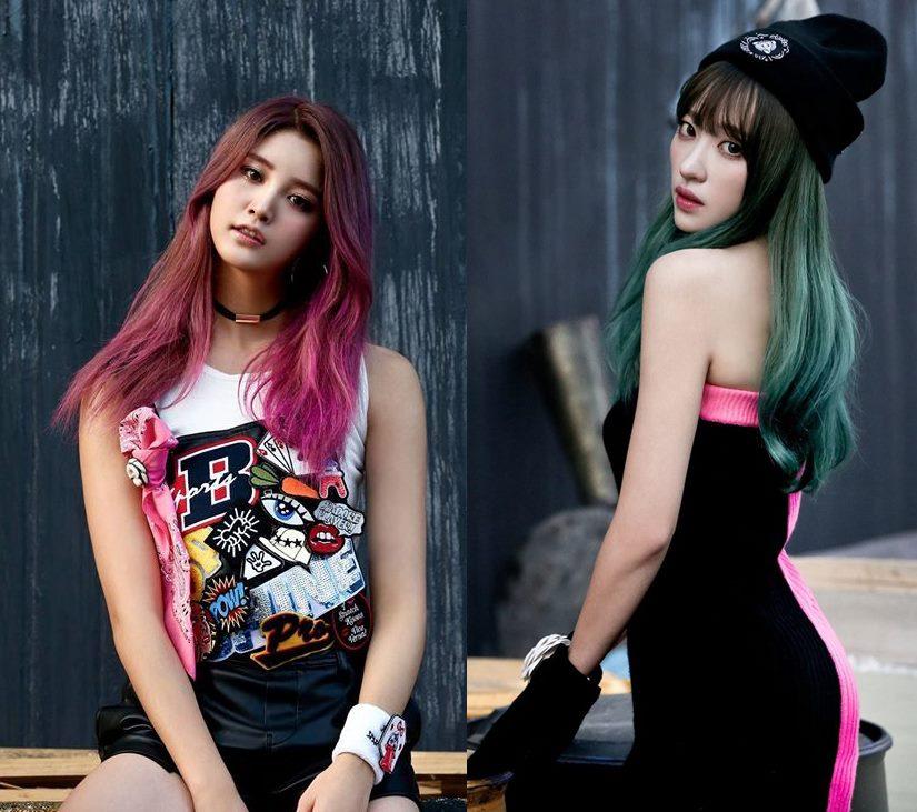 即將要回歸的EXID~正花和Hani新髮色也超好看!!