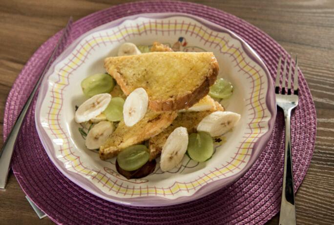 第二道要教大家的微波爐料理就是法式吐司(French Toast), 可以直接當早餐,也可以當下午茶。