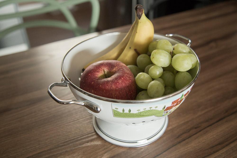 如果家裡還有水果的話就更完美了~~ 沒有種類限制,只要家裡有的都可以拿來用