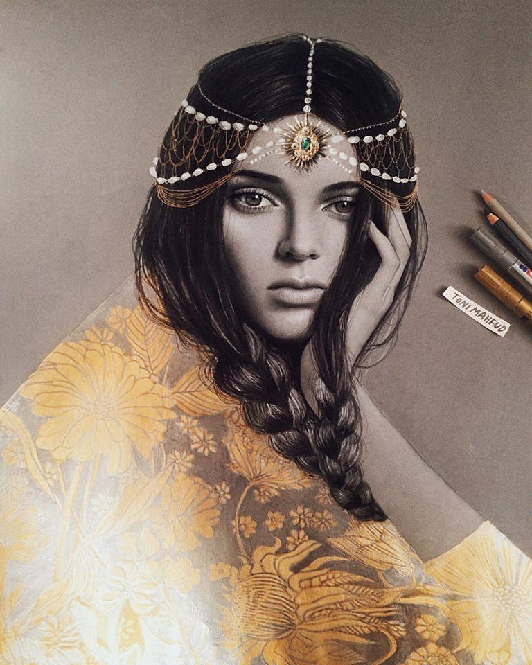 好萊塢人氣模特兒Kendall Jenner
