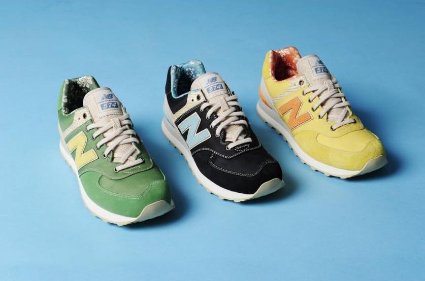 #5 接下來是574,574一看就和前面幾款不同,屬於復古色彩強烈的慢跑鞋
