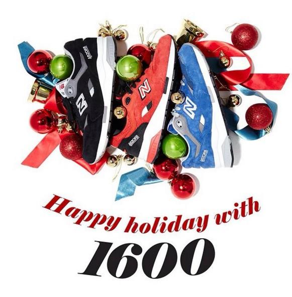 1600曾推出假期鞋款,當時強打情侶配對風!