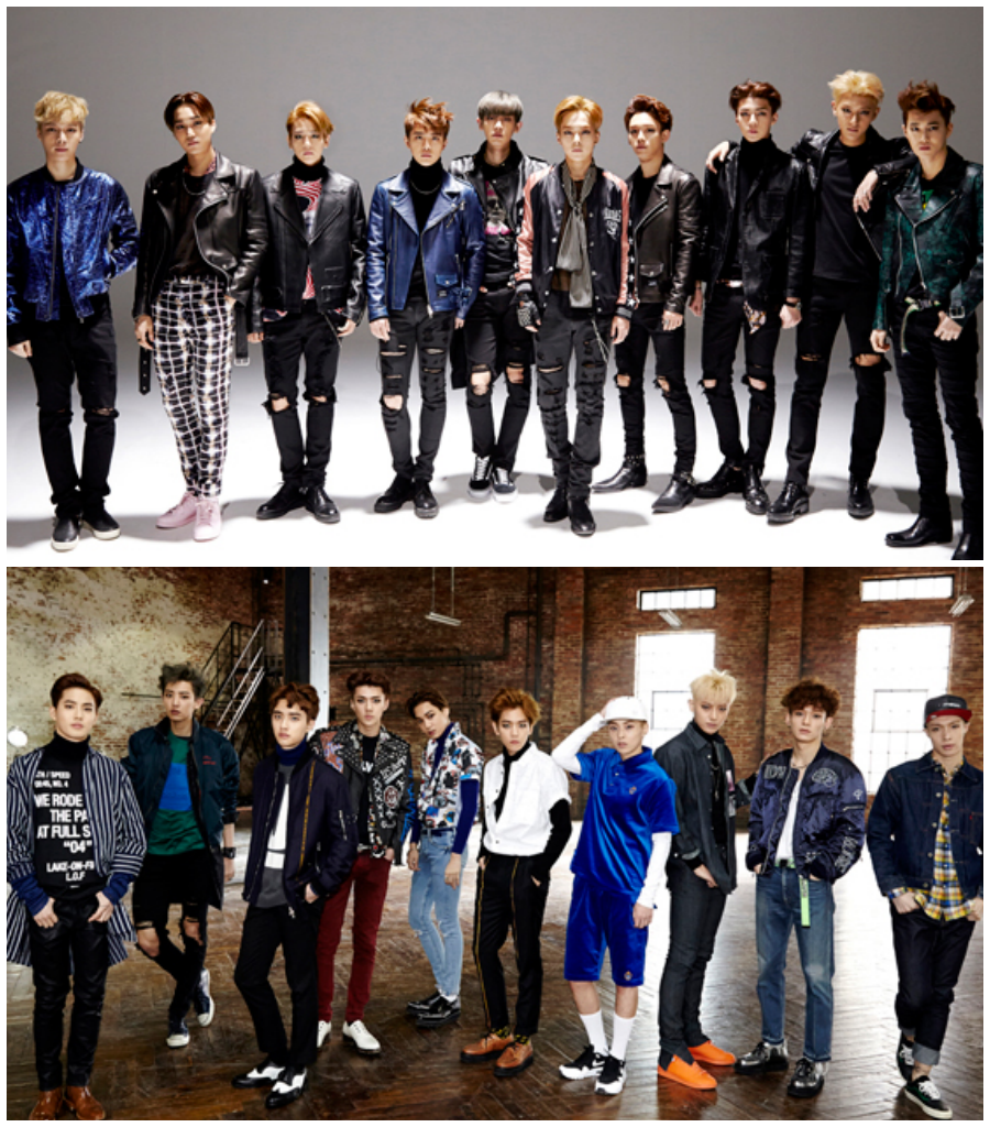 2015.03.30 EXO《EXODUS》  EXO 也在今年發行了第二張正規專輯《EXODUS》,在演唱會上首次曝光的主打歌「CALL ME BABY」也在橫掃了各大音樂節目的一位寶座。