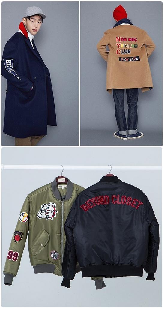 冬天的外套真的很~~帥!從軍風Jumper外套到大衣款式,喜歡運用電繡圖案&徽章拼貼做出街頭感,很多女生也都來一件了耶!