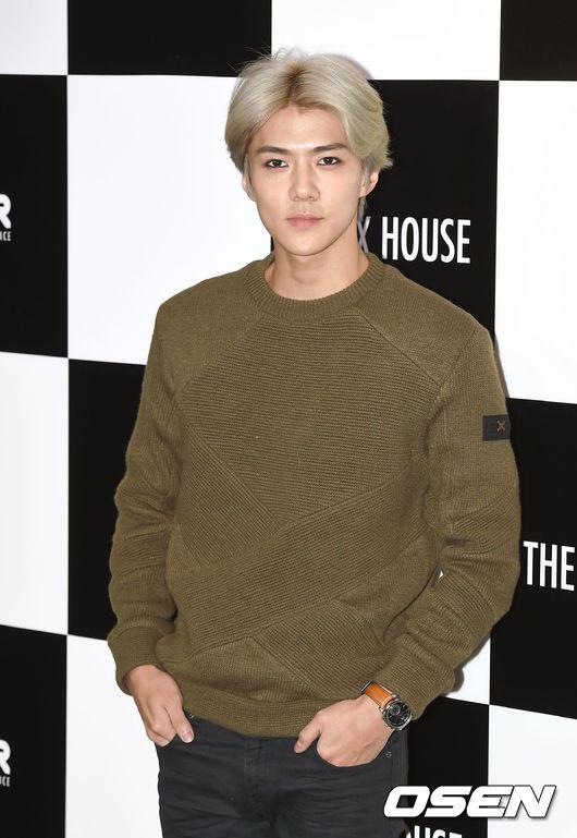 #8.世勳 說到中分 當然不能不提EXO的世勳 不論什麼髮色搭上中分 就是適合世勳!