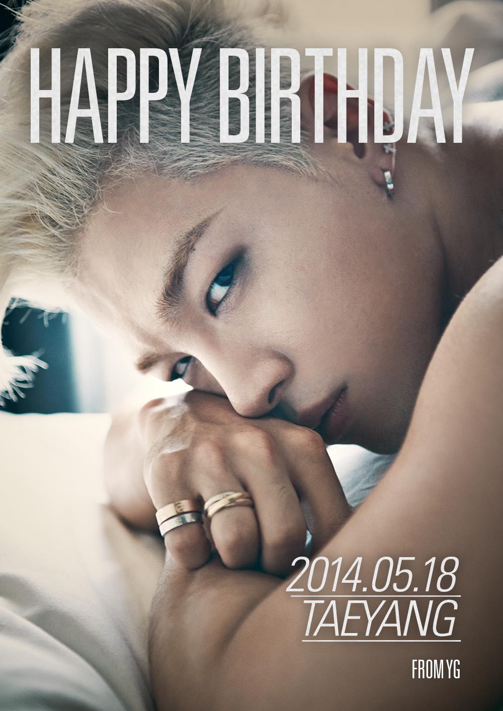 BIGBANG 中的第二個 88 年生的人就是「太陽」,因為更喜歡 2014 年的生日圖,所以私心放上了這張XD