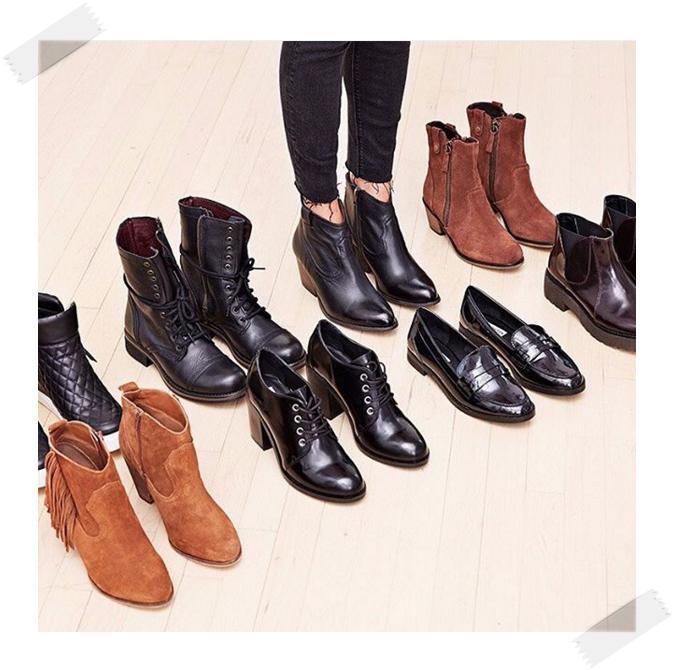 個性的機車短靴是許多女明星的首選,因為充滿隨性感所以在搭配上很優喔~