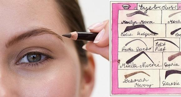 6. 不對稱的眼線和眉毛 畫完才發現一高一低的眼線或眉毛 崩潰指數應該可以超過70吧 要卸掉重來又是一大功夫 只好歪著臉出門了...