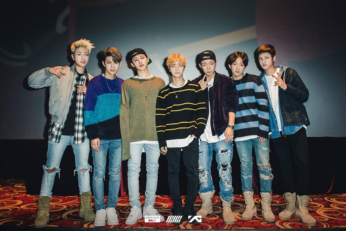 第二組就是被譽為 YG 怪物新人之一的「iKON」。