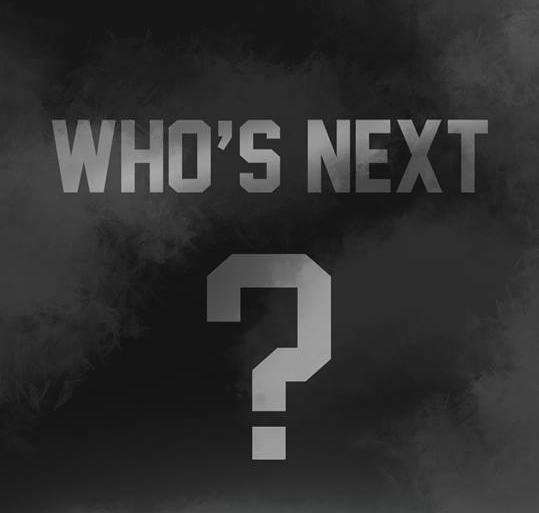 最後一組公布的出席名單就是....? ( ↑ 硬要模仿老楊的 WHO'S NEXT? 梗。)
