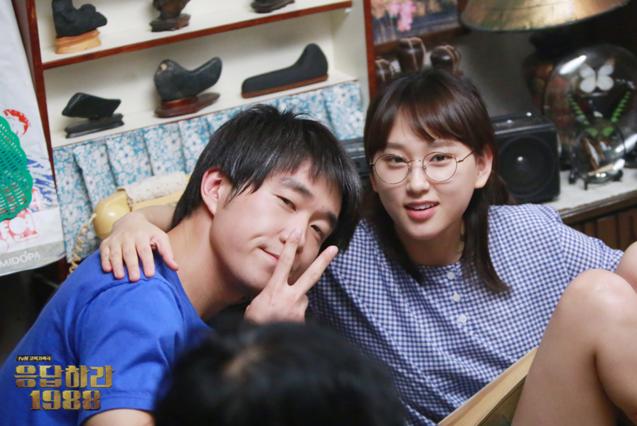 現在正在韓劇《請回答1988》擔任成寶拉角色