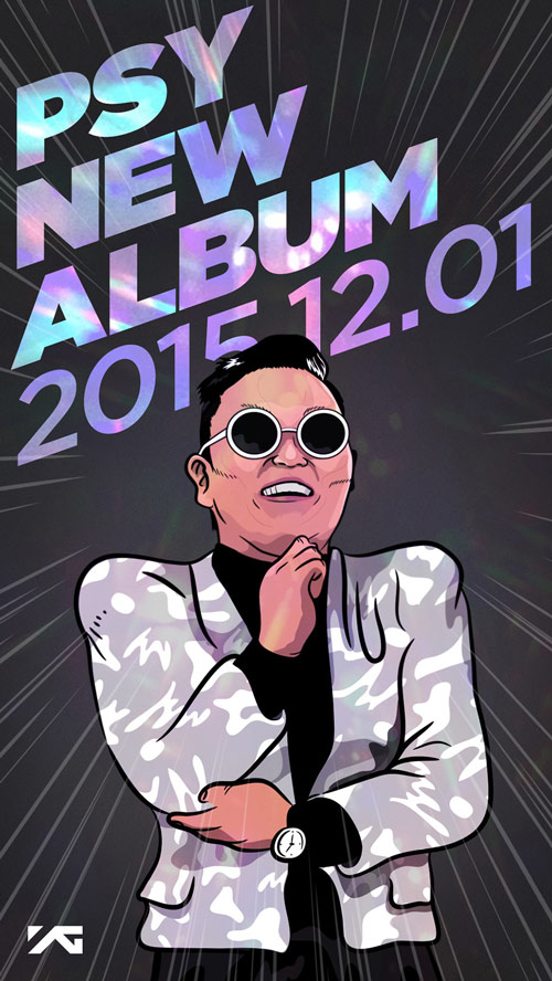 YG官方也公布PSY將在12月1日回歸 繼收錄'江南Style'的正規專輯'PSY6甲'後 推出睽違3年5個月的正規專輯 不知道這次又會帶來什麼樣的作品 會不會又再次吹起一股旋風呢 就讓我們看下去吧~