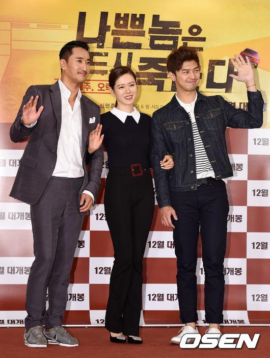 和韓國公司簽約後,為了更完美詮釋這部跨國合作電影《壞蛋必須死》中的角色