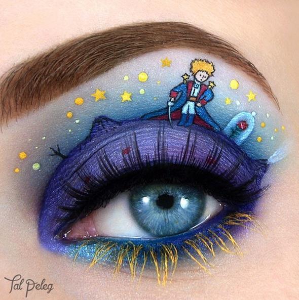 # 小說 <小王子> 站在眼皮行星上的小王子.