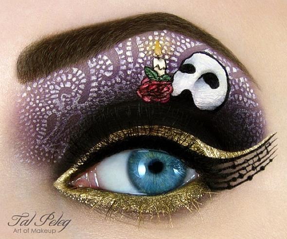 # 歌舞劇 <歌劇魅影> <歌劇魅影>裡無可缺少的面具.