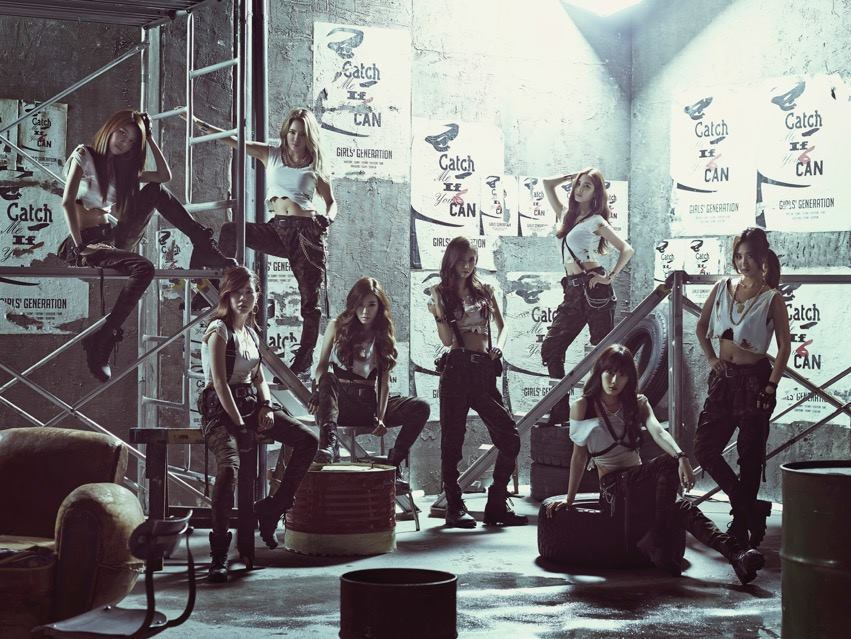 4 月,少女時代發行了日本單曲〈Catch Me If You Can〉。