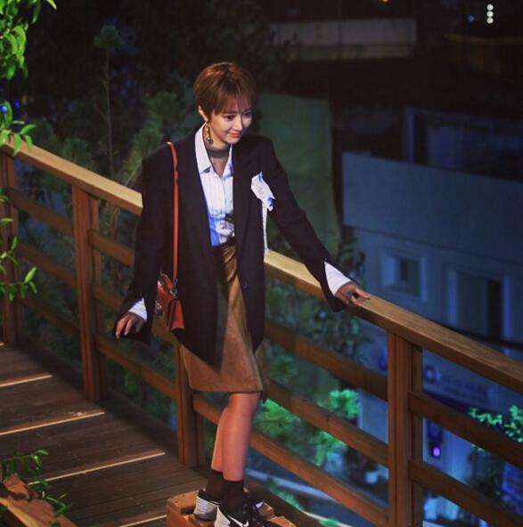雖然是女二,但高俊熙在劇中的風頭似乎更勝作為女一的黃正音 「高俊熙短髮」效應更是一度風靡了整個韓國