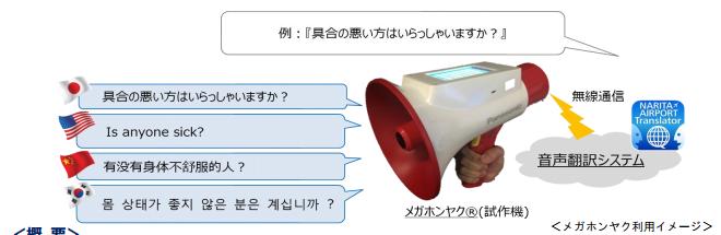 預計在2015年12月~2016年3月測試使用 之後到日本玩的時候就有機會在成田機場裡看到它喔