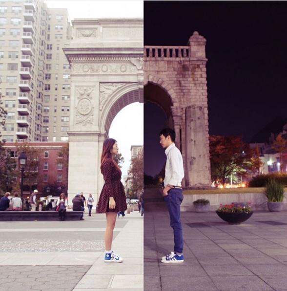 Triumphal Arch, Washington square Park NY & Seoul Seodaemun District Independence Gate 兩人也有在參與一些公益活動,對一些家庭環境不富裕的學生,免費提供教學環境、海外教育公益活動等等,想要通過各種藝術活動做一些善事