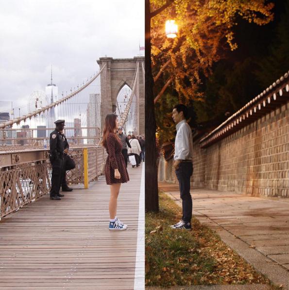 紐約 & 首爾德壽宮石牆路  兩人目前經營管理一個叫ShinLiArt的藝術集團,並已訂婚。 女生也在男生經營的平面造型設計公司擔任藝術導演 他們的夢想是開一間藝術學校