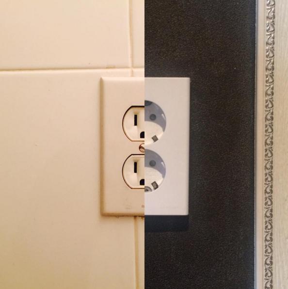 一樣的電插頭,不同電壓