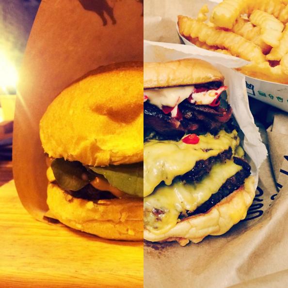 我們一樣吃漢堡~