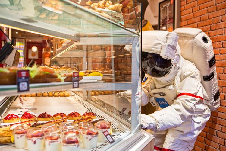 完全改變我對法國麵包的想像 在真正的法國麵包面前 差點跪下來啊