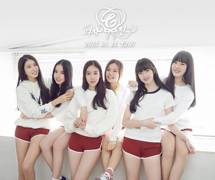 1. G-Friend女朋友 (2015/1/16)