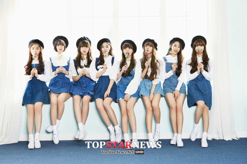5. OH MY GIRL (2015/4/20)