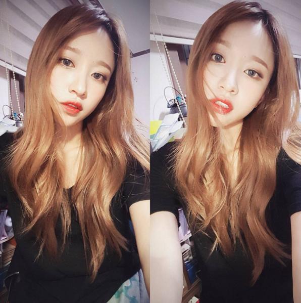 ♡ #셀스타그램   셀스타그램 = 셀카 + 인스타그램(selstagram = selfie + Instagram)。