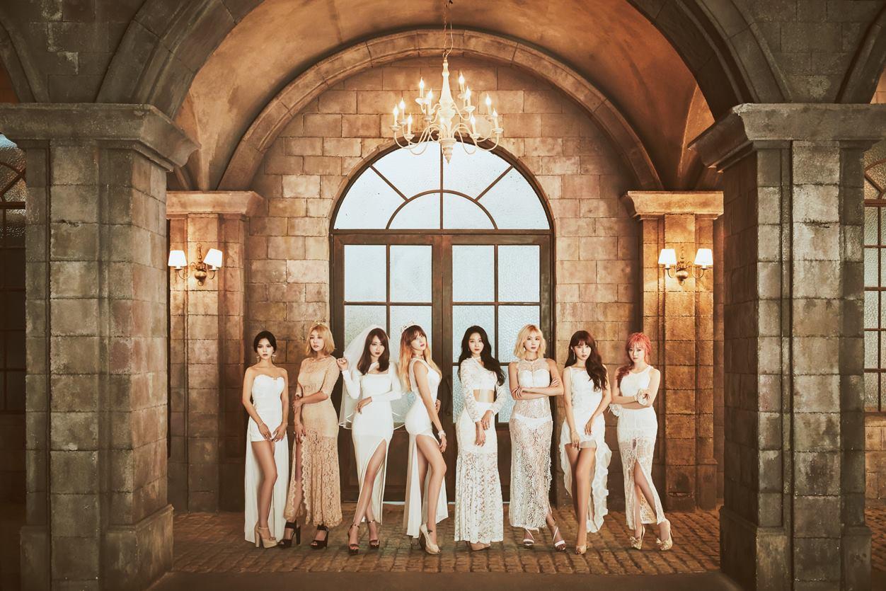 長腿女團「Nine Muses」也預計在 24 日發行迷你專輯《LOST》。