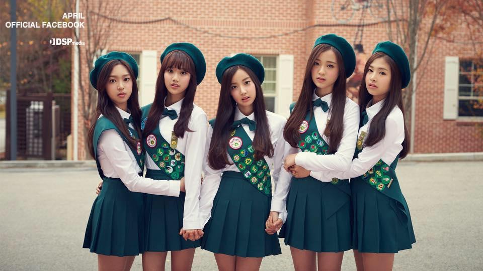 這個月初宣布變成 5 人團體的「APRIL」 預計在 25 日帶著單曲《BOINGBOING》回歸。