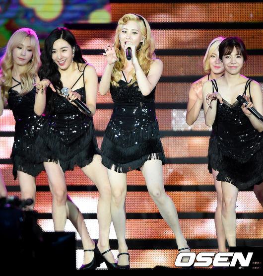 其實少女時代Sunny、太妍、孝淵都差不多高啦~