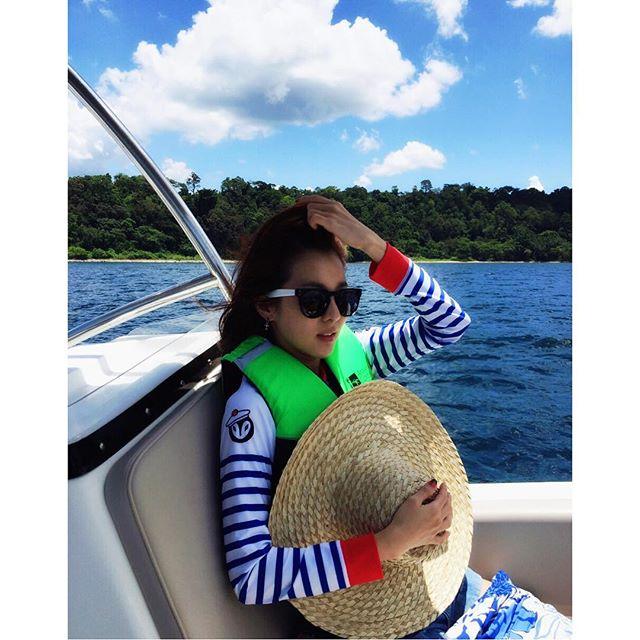 3. Dara是大海的女兒!因為她其實是來自韓國南部最大都市釜山!她還會說一口道地釜山方言呢~