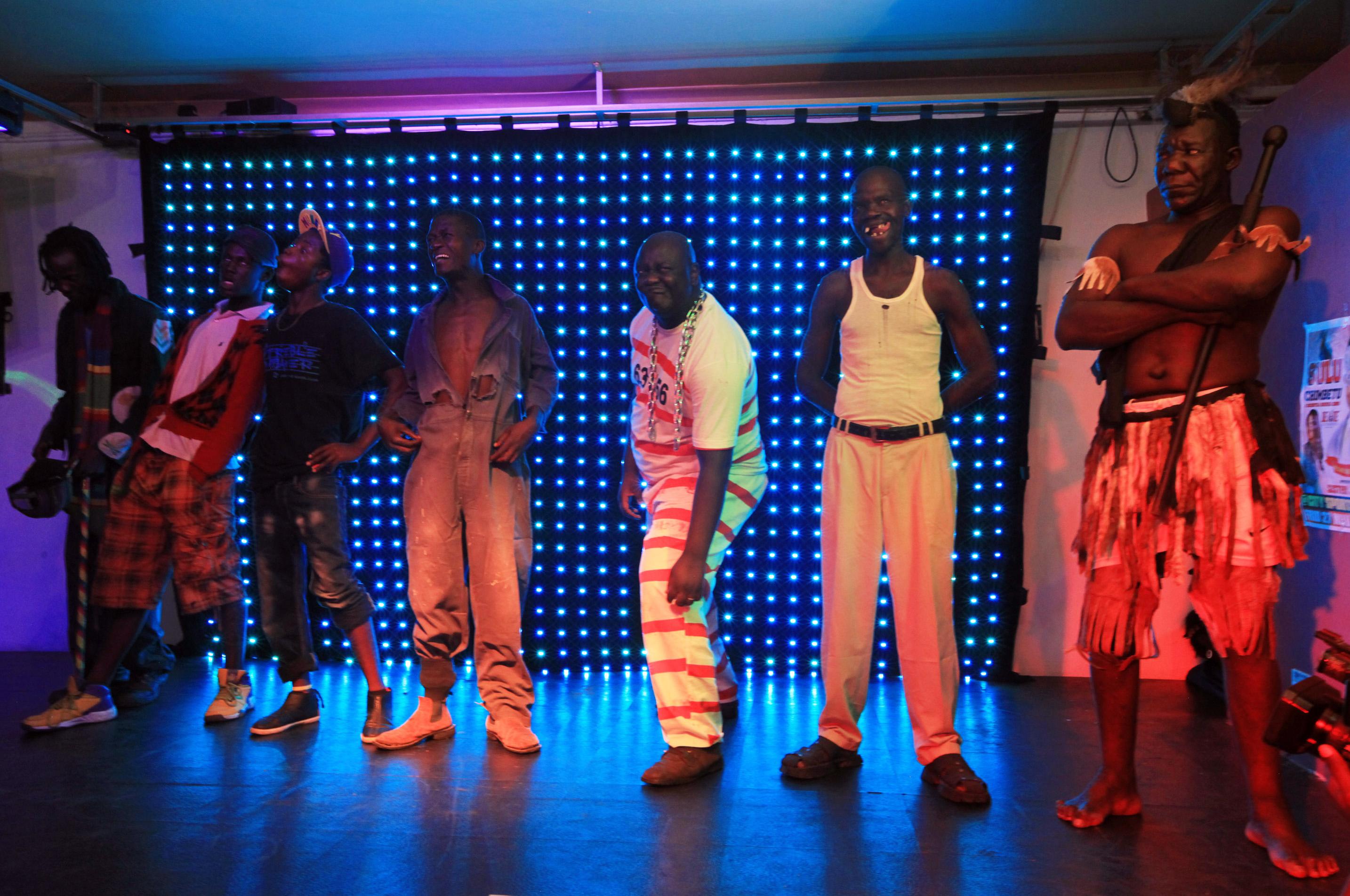 非洲國家辛巴威舉辦一個特別的「醜男大賽」 比賽希望都是用天生的長相參賽,不需刻意扮醜