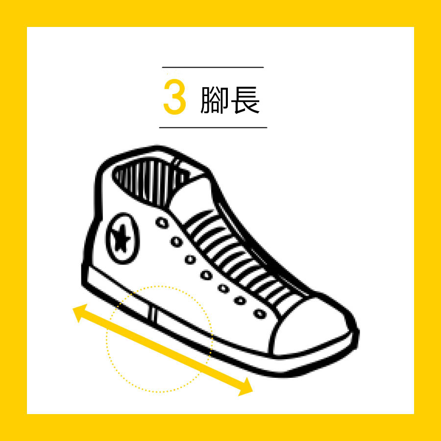 最長的腳趾頭(拇指或食指)不要太頂住鞋子最前邊,鞋子最前邊要留一點空隙。穿上鞋子的時候,所有的腳趾頭可以上下自由的移動才能預防腳趾頭受傷.