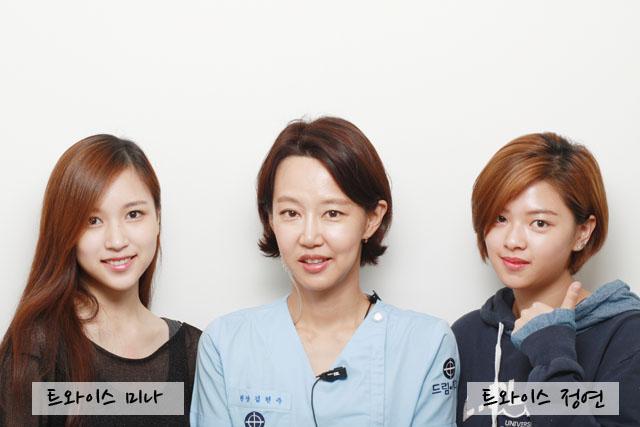 左:Mina 右:定延