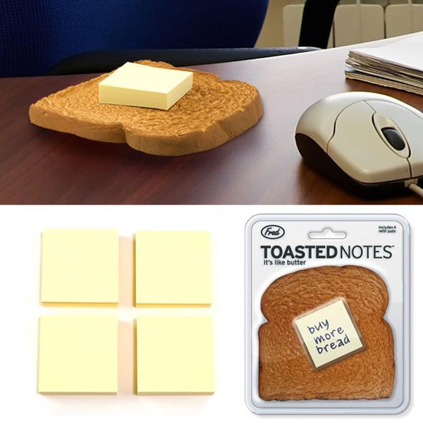 烤好的麵包當作底座,在奶油融化前趕快完成便條紙上的代辦事項吧♬NT.430