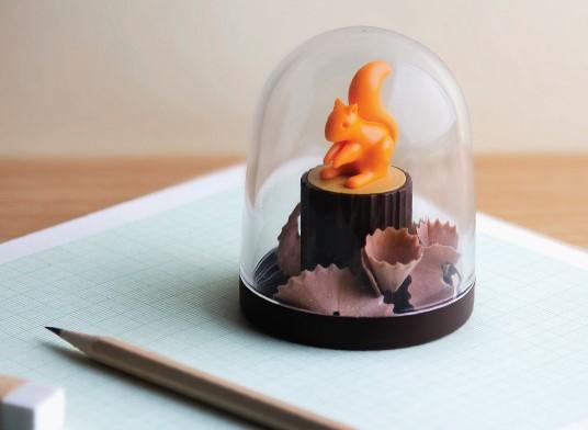 #松鼠愛森林削鉛筆機 NT.420 削鉛筆的時間太無聊了,有可愛的小松鼠陪伴再多鉛筆我也甘願削.....