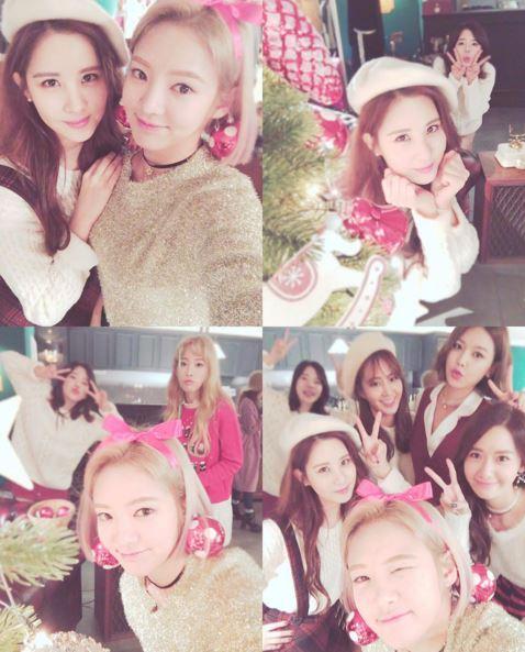 不久前,少女時代孝淵在Instagram中上傳了與成員們的私下照片~