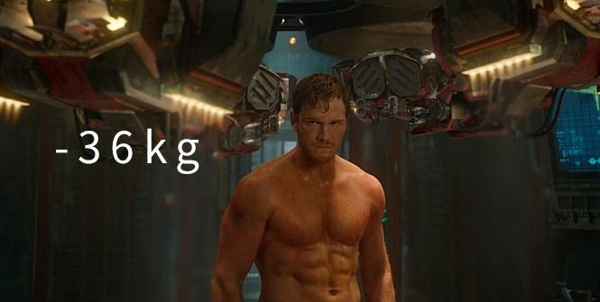 《電影星際異攻隊》(2014) (-36kg) 「6個月,絕對不是一段長的時間」