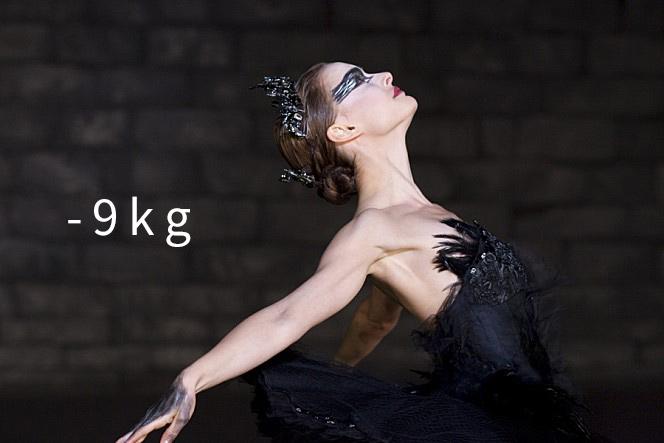 《黑天鵝》(2010) (-9kg) 「我想我要死掉了」