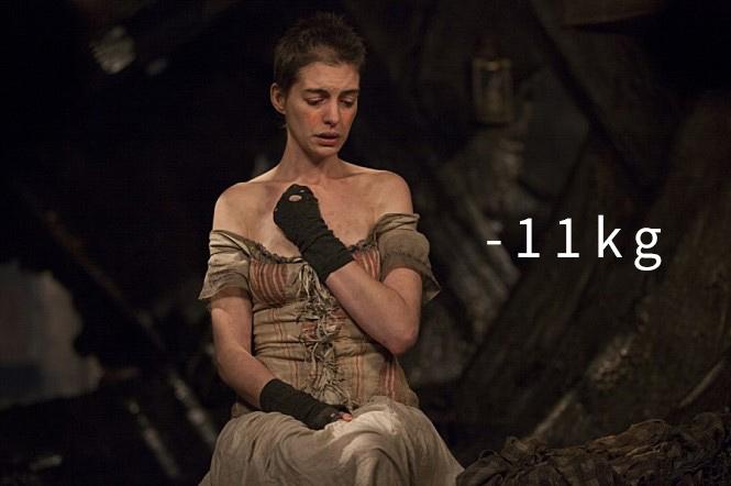 《悲慘世界》(2012) (-11kg) 「大約13天,什麼也不能嚥下」