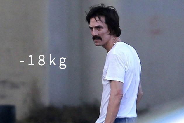 《藥命俱樂部》(2014) (-18kg) 「常常處於餓肚子,心煩的狀態」