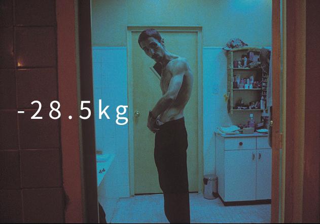 《克里斯汀貝爾之黑暗時刻》(2004) (-28.5kg)