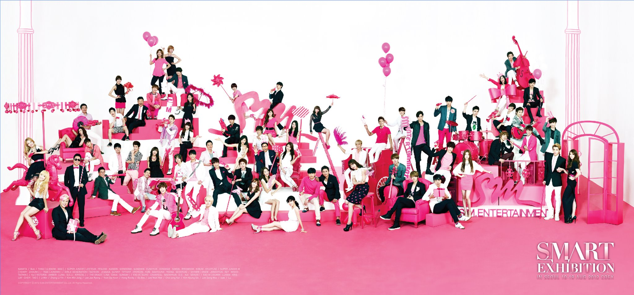 就是最美女團前四名有三個名額都是SM公司的XD雖然有很多韓國網友們都表示認同,也說這是實至名歸~不過也有其他女團的粉絲們都出來說這基準在哪?