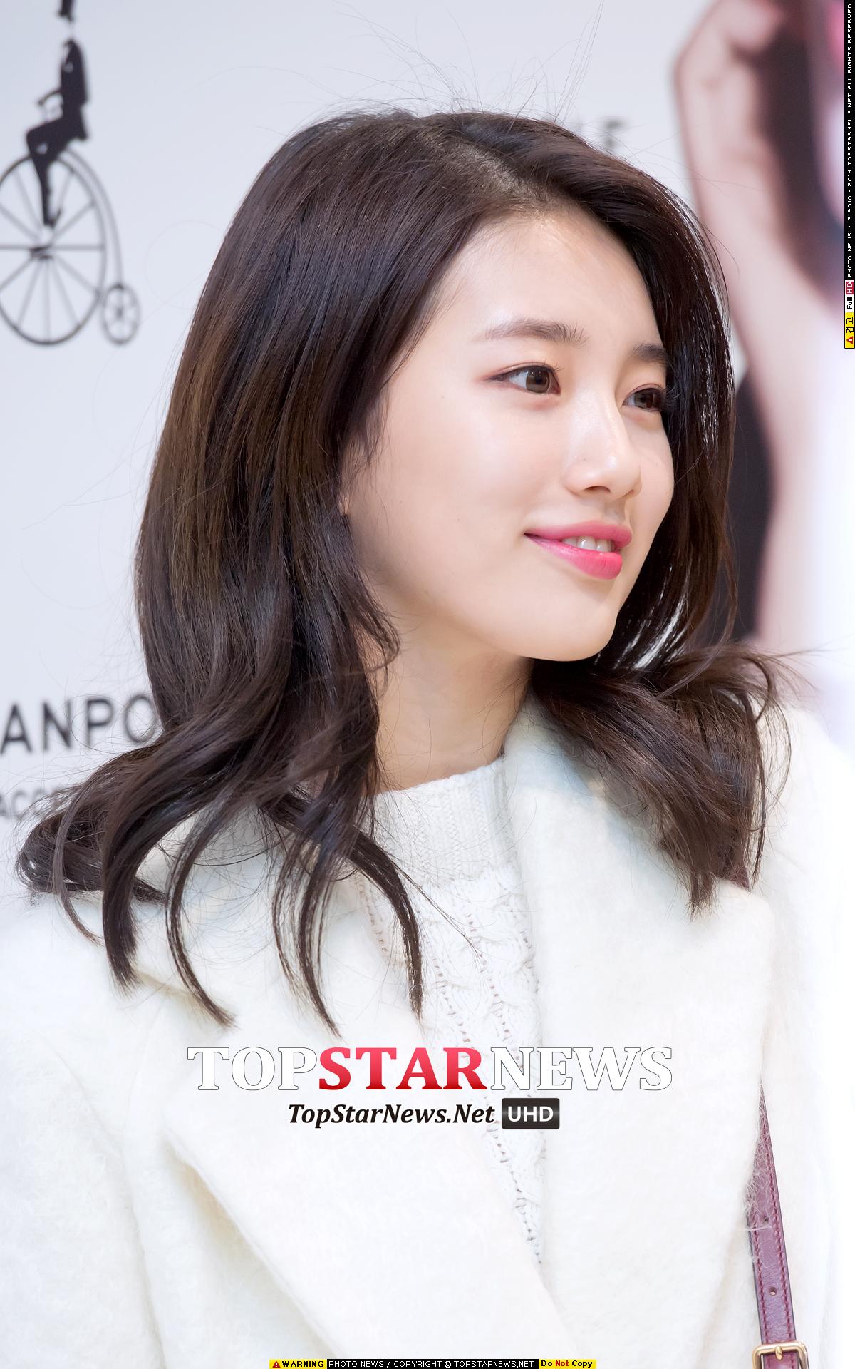 1.秀智 韓國媒體也說秀智的側臉是不一般的水準XD