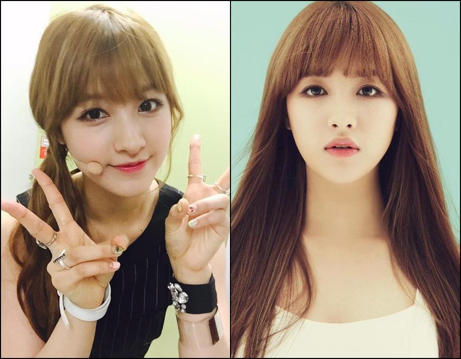 CLC 的主唱「Seung Hee(승희)」。