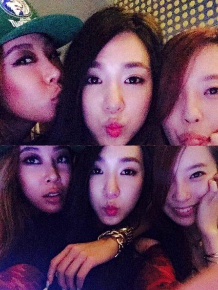 如果說諧星界的人脈富翁是李國主,那小編覺得韓國女嘻哈饒舌界的人脈富翁應該是Jessi啦!!